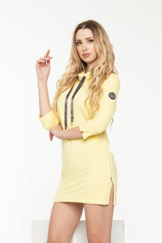 Léna tunikaruha - sárga