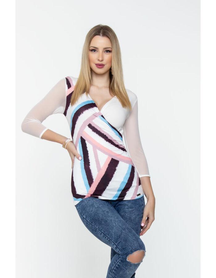 Emma póló - csíkos mintás
