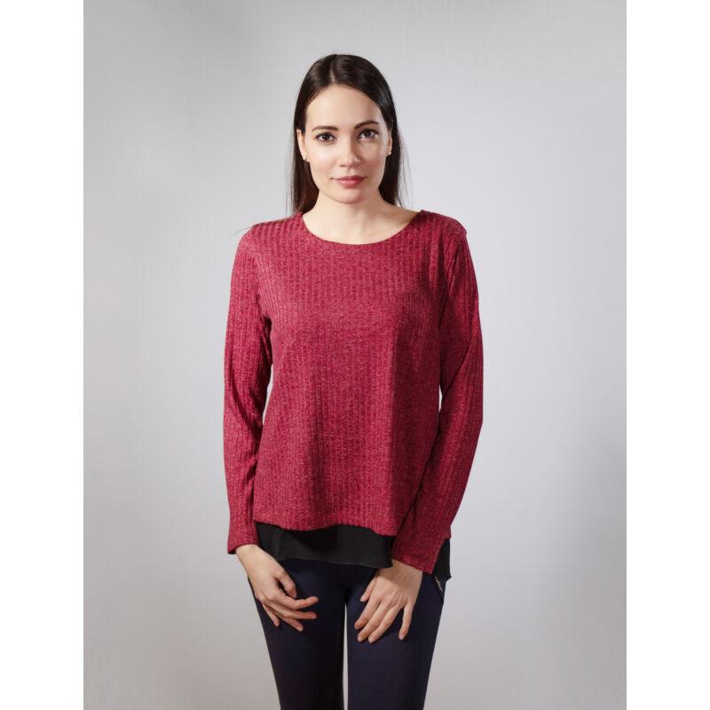 Letti masnis pulóver - bordó