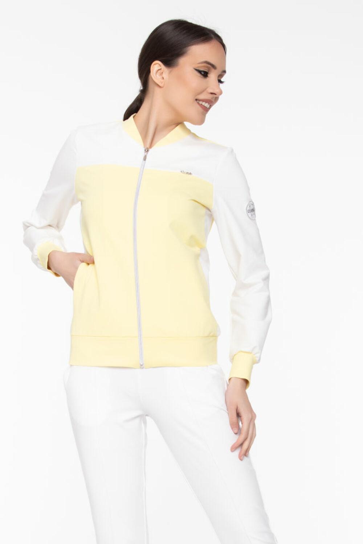 Polett szabadidő felső - sárga/fehér