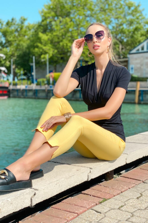 Márti nadrág - sárga
