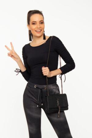 Kira póló - fekete