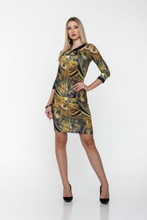 Bella ruha - arany mintás